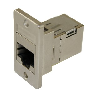 Cat5e RJ45 Panel Coupler, Shielded Female - Female CDF-C5ES