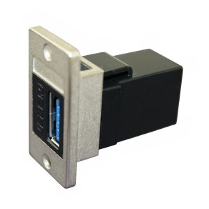 USB 3.0 AA Panel Coupler, Female - Female CDF-USB3AA