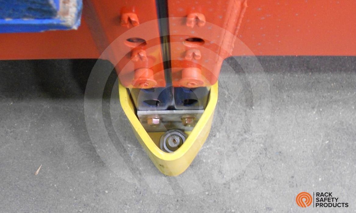 VNose Low Post Protector for Pallet Rack  Rack Safety
