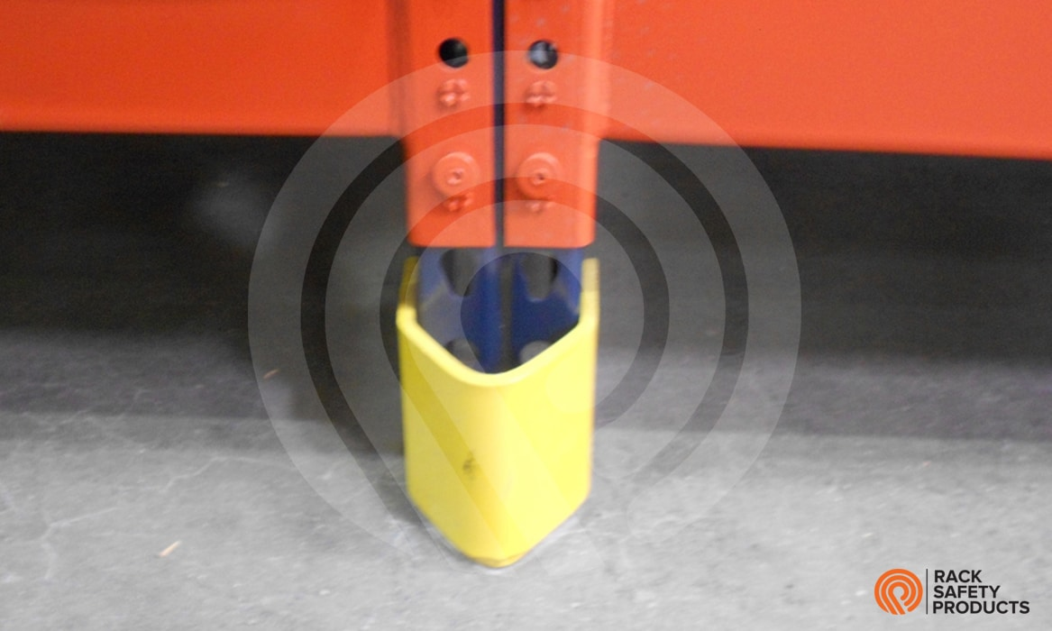 VNose Low Post Protector  Rack Safety Products