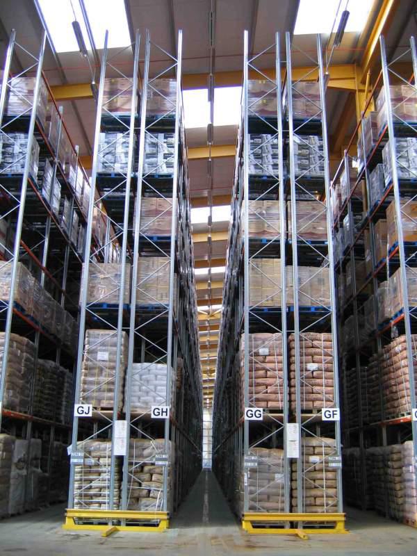 Very Narrow Aisle Pallet Rack VNA  Rack Systems Inc
