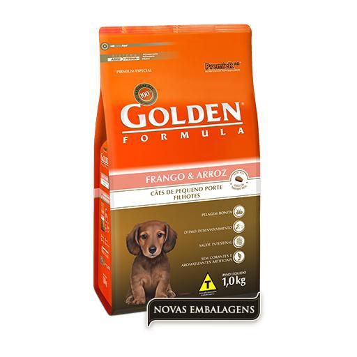 Ração Golden Fórmula Cães Filhotes Raças Pequenas Mini Bits Frango & Arroz 1kg