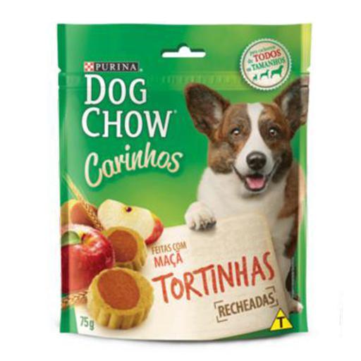 DOG CHOW CARINHOS TORTINHAS C/MAÇÃ 75G