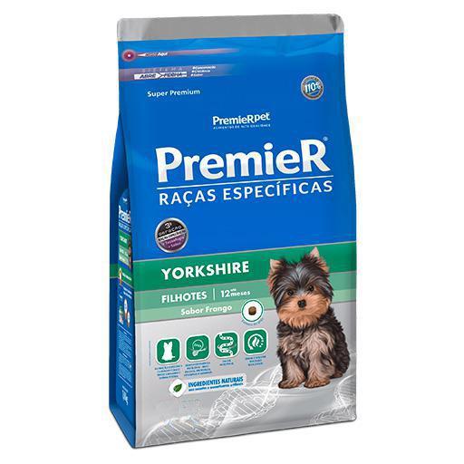 Ração Premier Yorkshire Filhote Frango 2,5kg