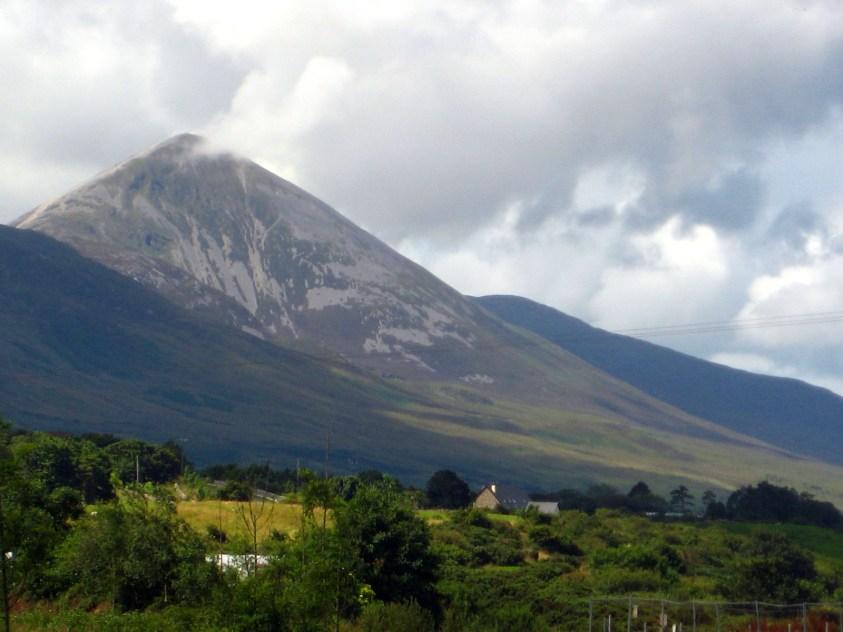 Vue Croagh Patrick comté de Mayo