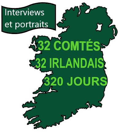 Tour d'Irlande interviews et portraits d'Irlandais