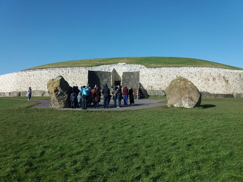 Site archéologique Newgrange Irlande