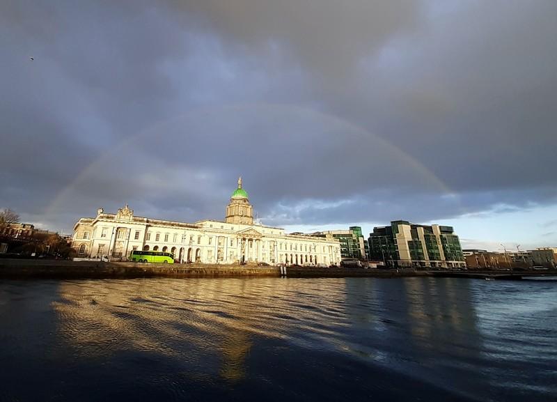 Arc-en-ciel Dublin Irlande