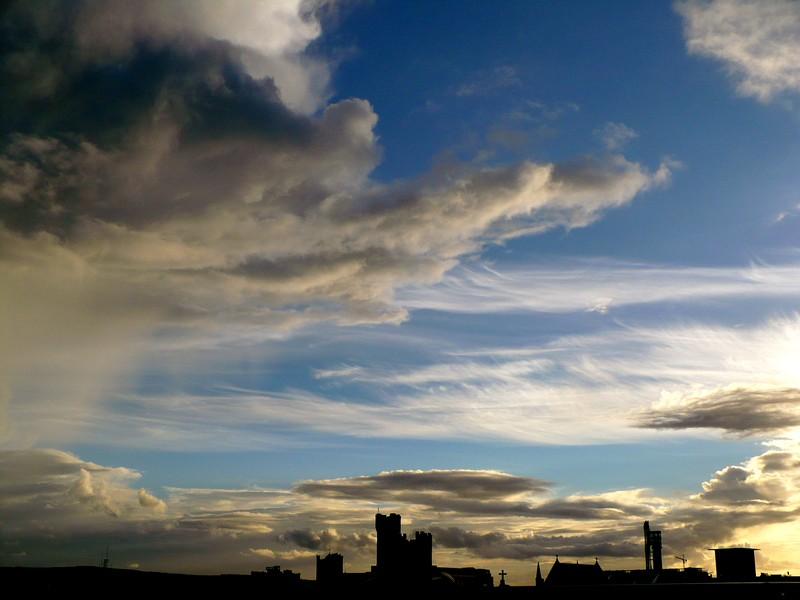 ciel temps Dublin