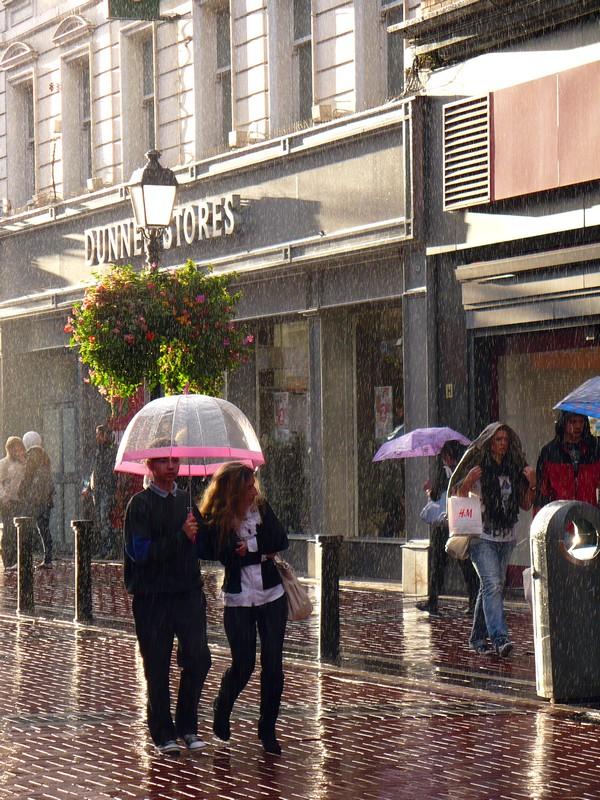 Pluie soleil Dublin