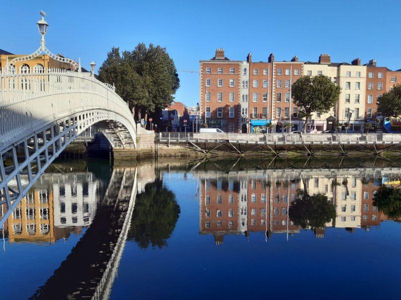 Les ponts de Dublin Irlande
