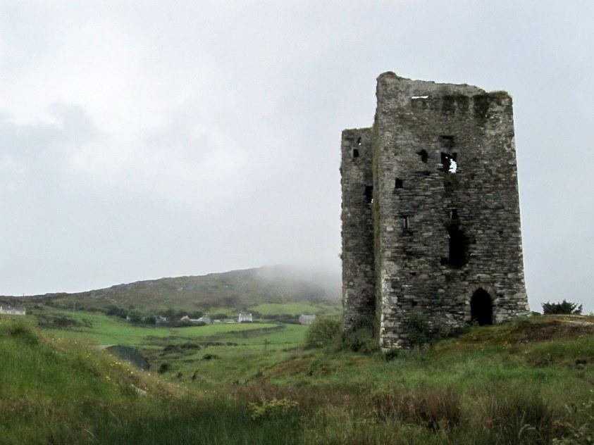 Ruines fort Mizen Head Irlande