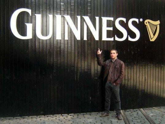 Etudiant en Irlande