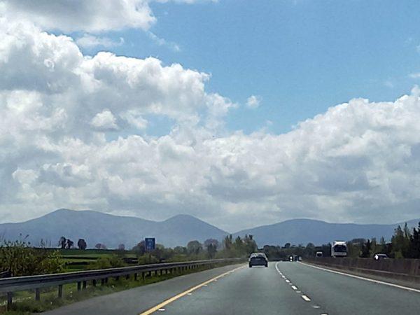 Autoroute en Irlande