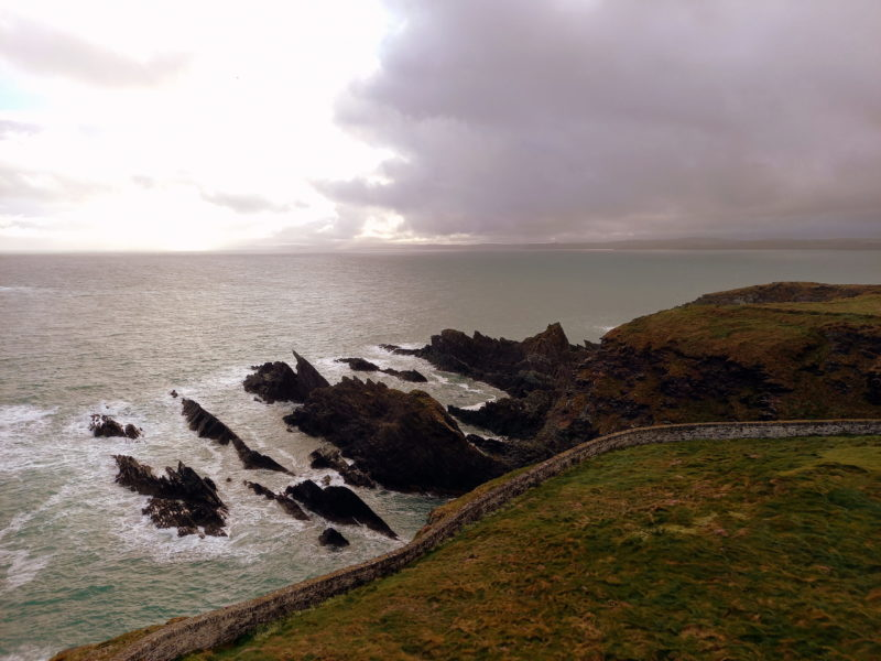 Falaises péninsule Cork Irlande