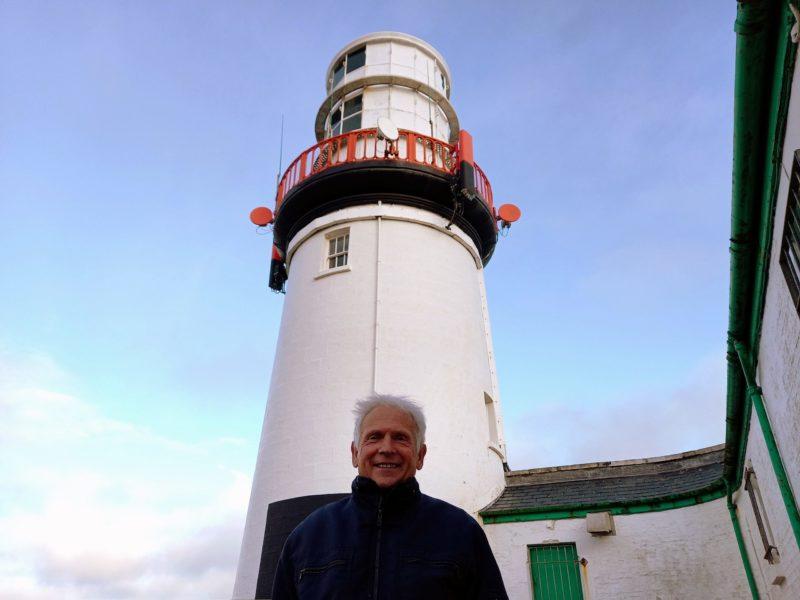 Gardien du phare de Galley Head Irlande