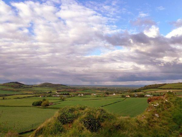 Paysage Comté Laois Irlande