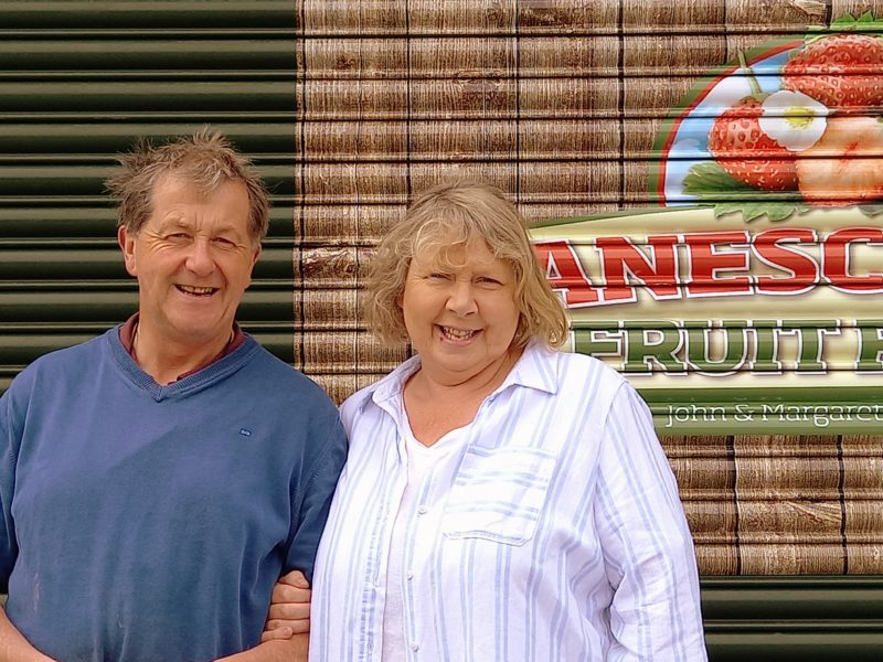 Producteurs de fraises Irlande