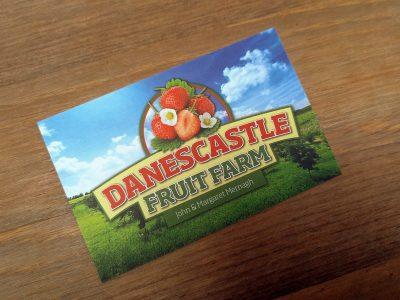 Fraises Danecastle fruit farm Wexford Irlande
