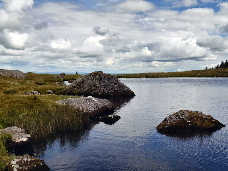 Lac baignade randonnée Irlande