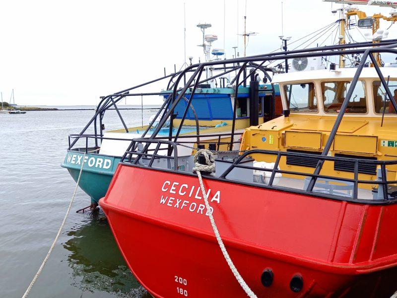 Bateaux de pêche Wexford Irlande