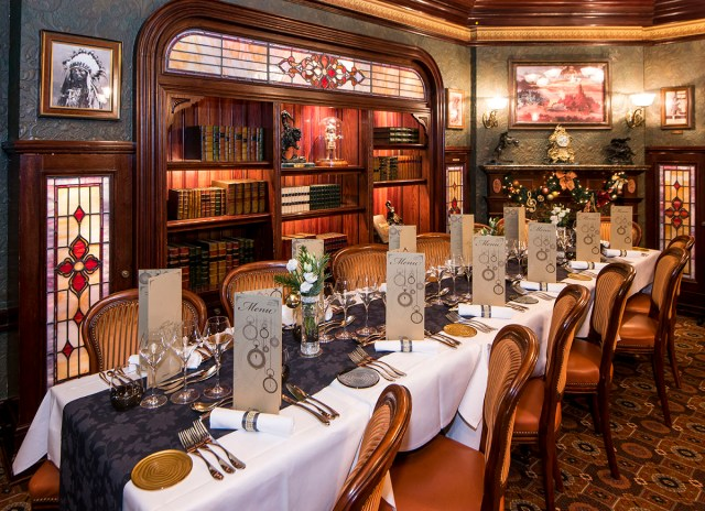 Nouvel An Restaurant Walt's Disneyland Paris