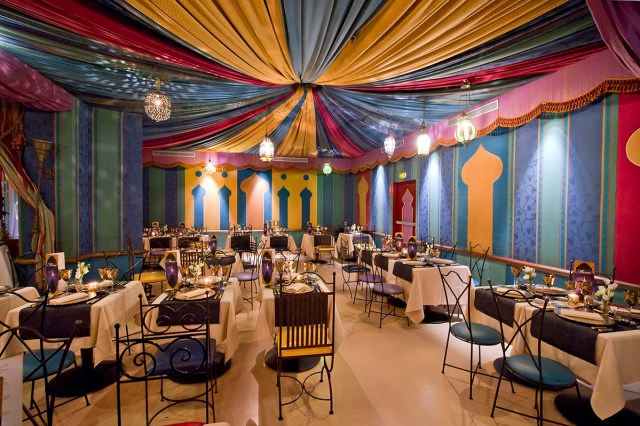 Nouvel An Restaurant Agrabah Café Disneyland Paris