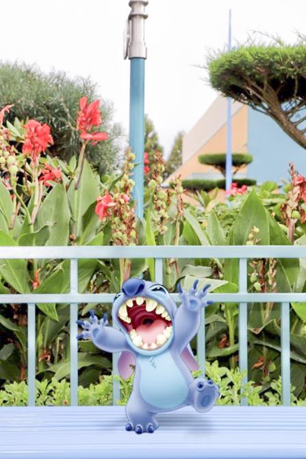 Disneyland Paris Halloween Magic Shot Stitch