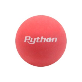Python Red Racquetballs 3 Ball Can 🔥