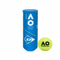 Dunlop Australian Open Official  All Court Tennis Balls X3