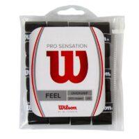 Wilson Pro Sensation Overgrips x 12 (Black)