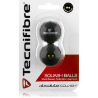 Tecnifibre Squash Balls Double Yellow dot