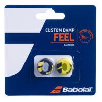 Babolat Custom Damp x 2 (Black / Yellow)