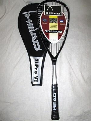 Head Ti Pro VI Squash Racket - Racquets4Less.com