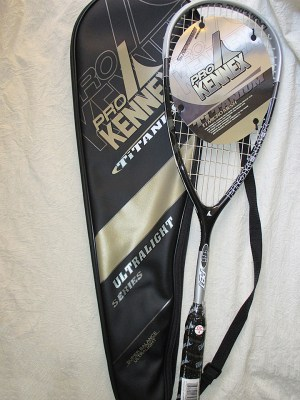Pro Kennex Ti PBT 140 grams Squash Racket - Racquets4Less.com