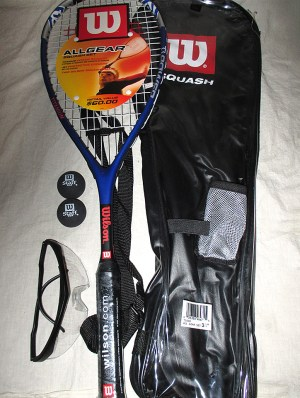 Wilson All Gear Squash Racket Pack - Racquets4Less.com