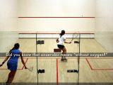 Squash, an anaerobic sport