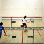 Squash and Fitness – Steps Covered and Calories Burned