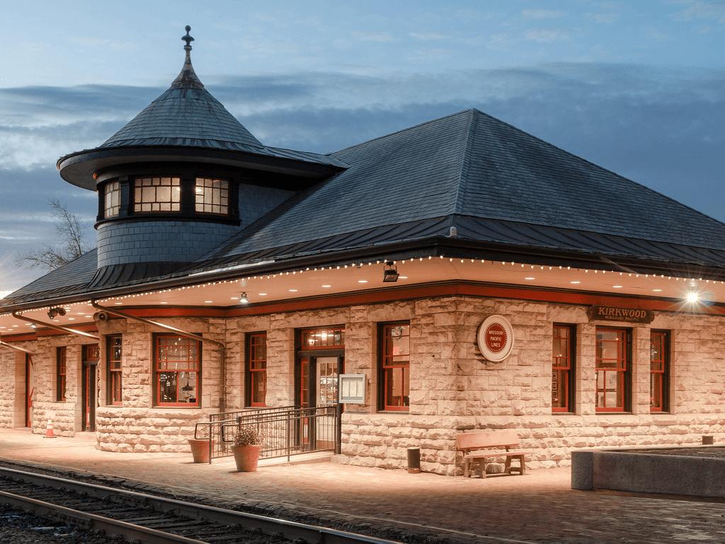 Webster Groves Train Station