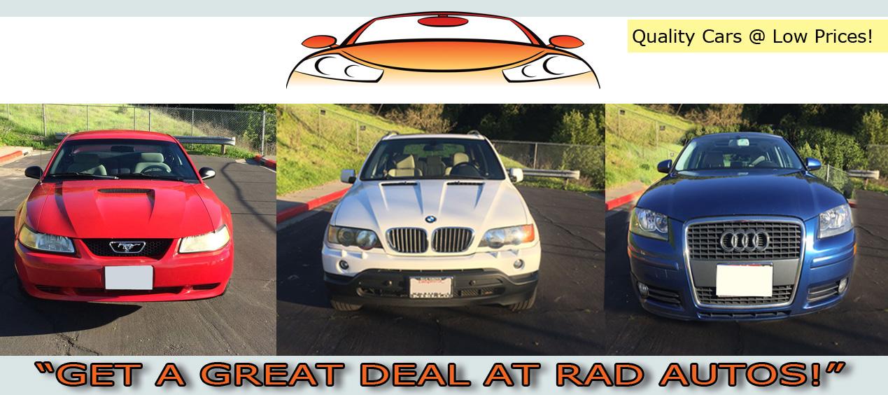 Used Cars Bay Area >> Rad Autos Affordable Used Cars Bay Area San Francisco