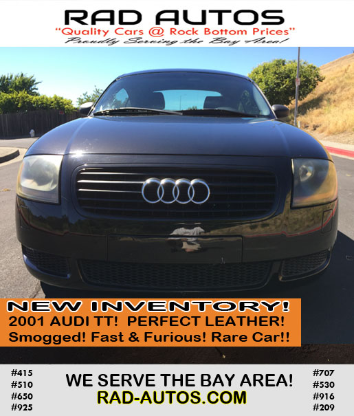 Used Cars Bay Area >> Used Cars Bay Area Vallejo 1 Rad Autos Affordable Used