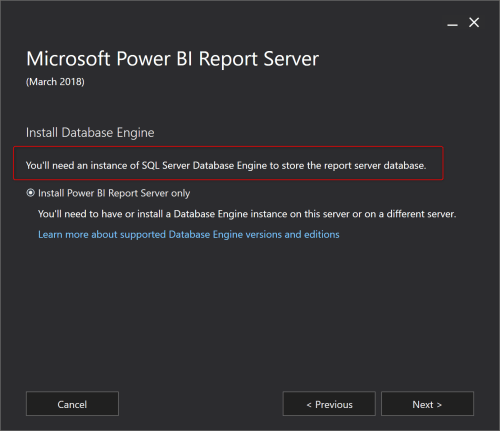 small resolution of if you don t have sql server installed then don t worry this setup will install the database engine for you