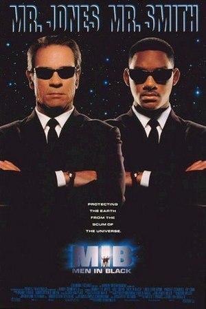 Homens de preto poster do filme