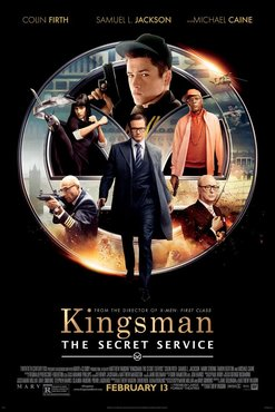 Kingsman: serviço secreto pôster