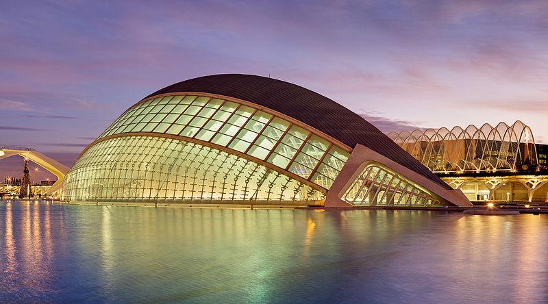 Cidade das artes e das ciências de Valência
