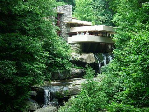Casa da cascata - Falling Water House