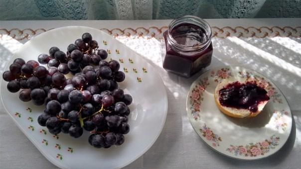 Geleia de uva