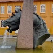 Cavalo babão - Praça Garibaldi