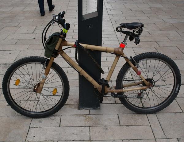 Bike de bambu - Budapeste