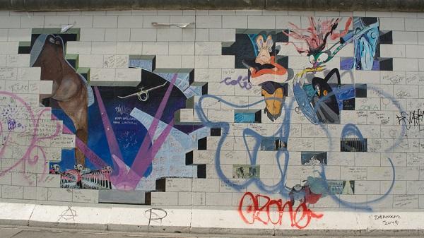 Pink Floyd in the Berlim Wall